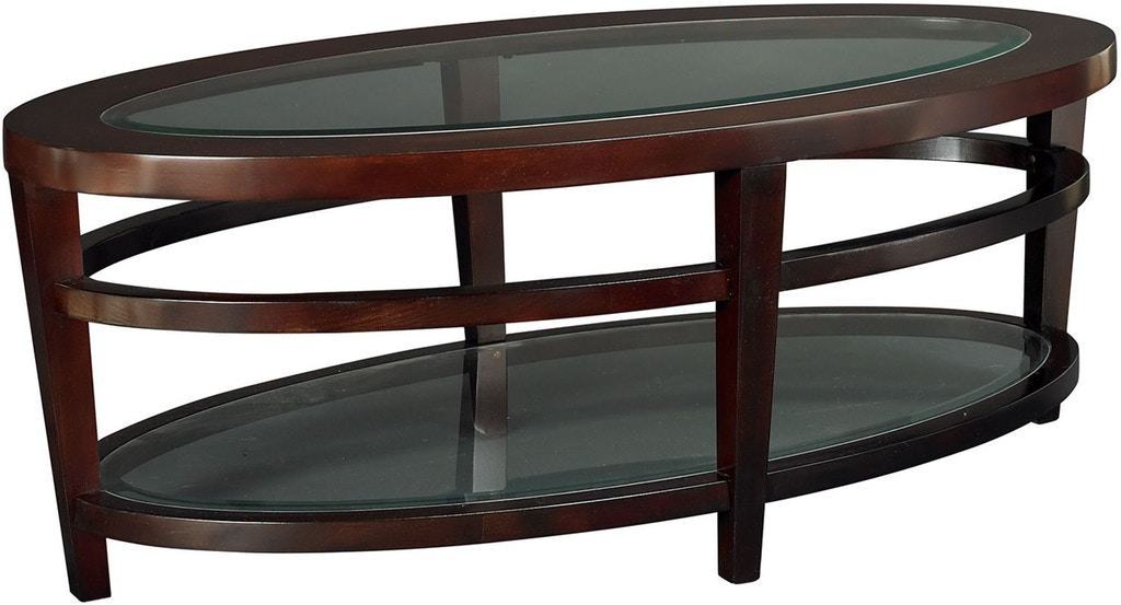 Hammary Living Room Oval Cocktail Table T20810 T2081506 00 Seaside Furniture Toms River