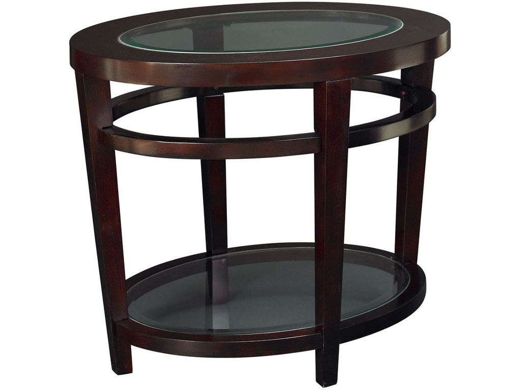 Hammary Living Room Oval End Table T20810 T2081536 00