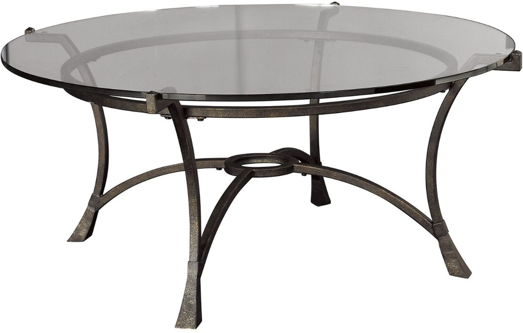Hammary Living Room Round Cocktail Table Base T30026