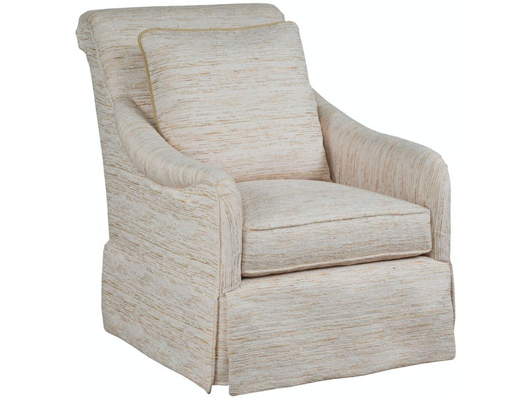 Kincaid Furniture Living Room Jocelyn Swivel Glider Chair