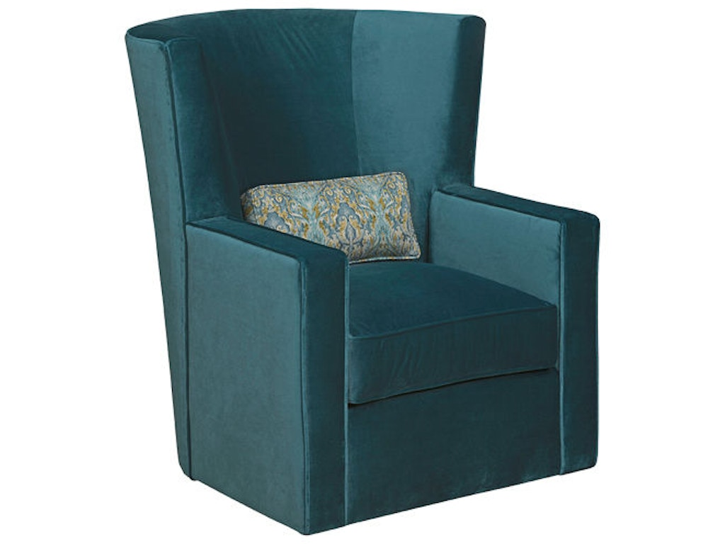 Kincaid Furniture Living Room Fitzgerald Swivel Chair 054 02 Bowen Town And Country Furniture