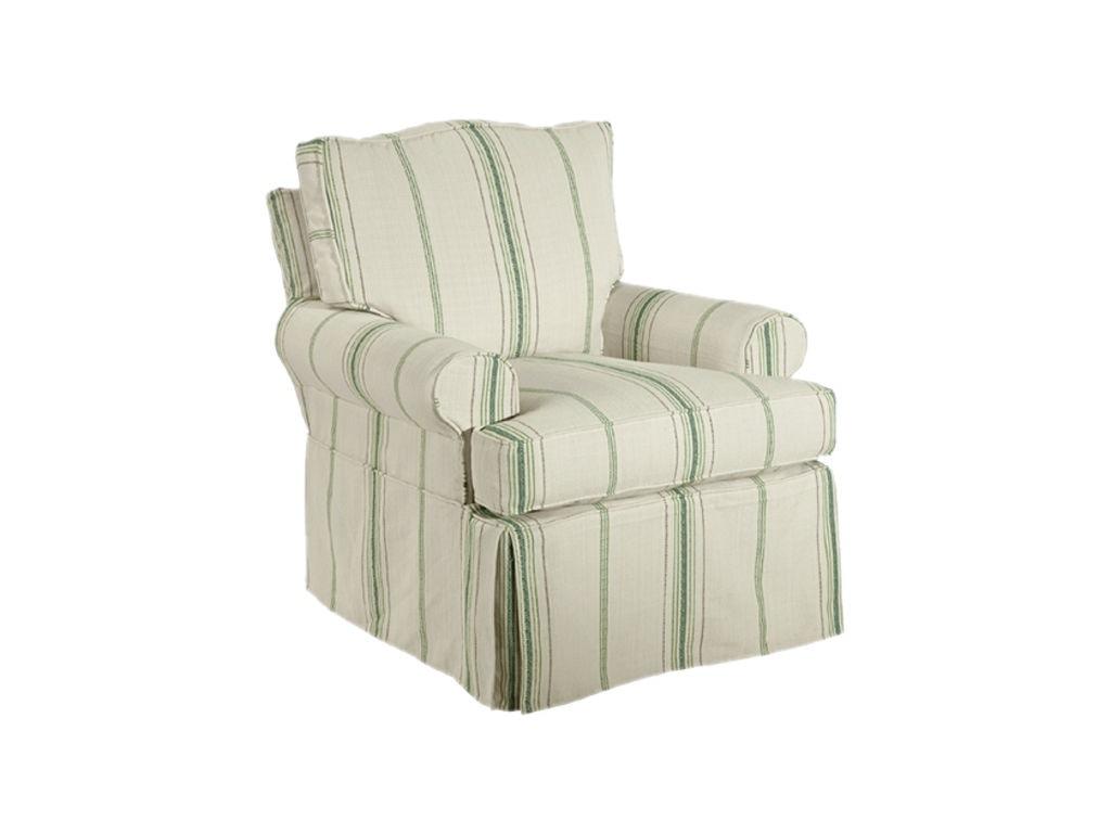 Kincaid Furniture Slipcover Swivel Chair 125 94