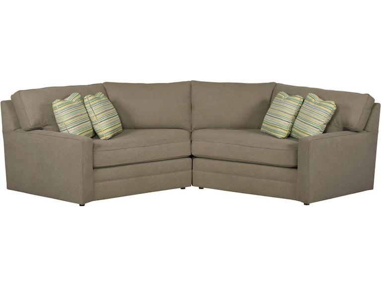 Kincaid Furniture Living Room Laf Cuddler 177 Sectional