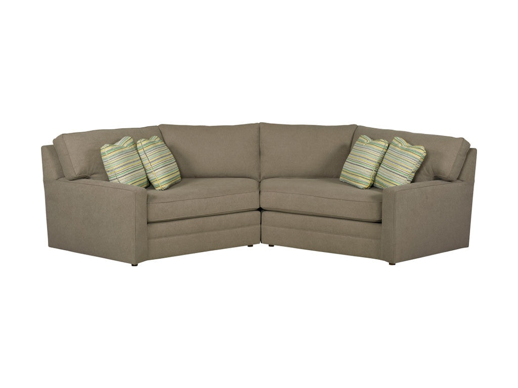Kincaid Furniture LAF Cuddler 177 Sectional