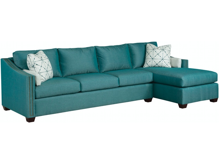 reputable site e9f66 a06df Kincaid Furniture Living Room Linear Sectional 312-Sectional ...
