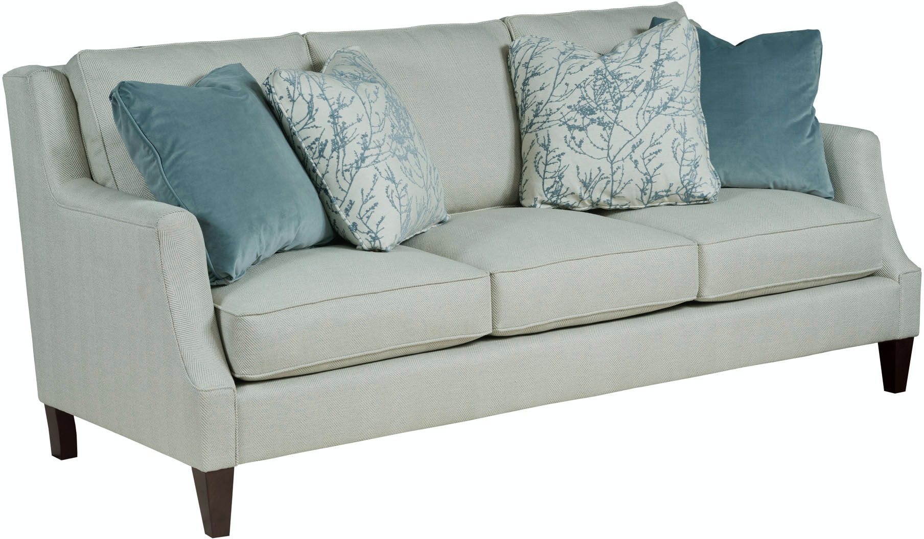 Kincaid Furniture Living Room Vivian Sofa 314 86 Emw Carpets