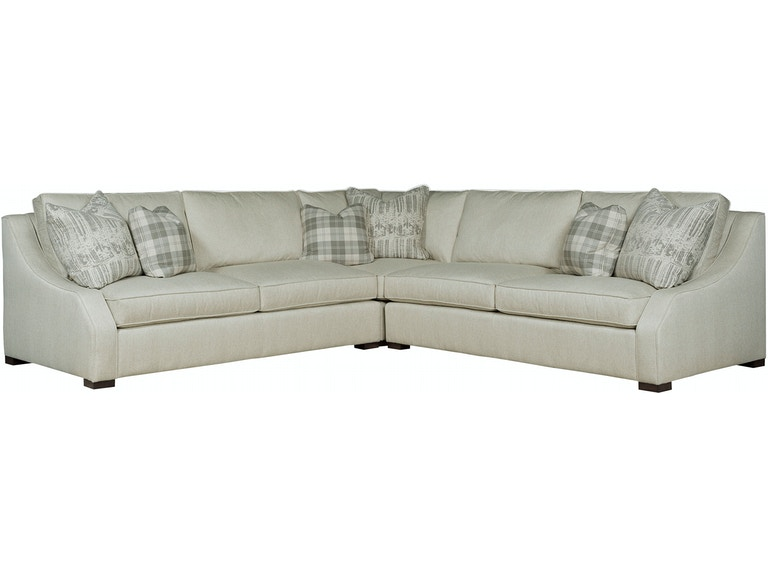 Kincaid Furniture Living Room 320-Sectional - EMW Carpets ...