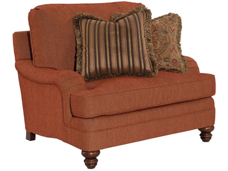 Kincaid Furniture Living Room Pinehurst Chair And A Half