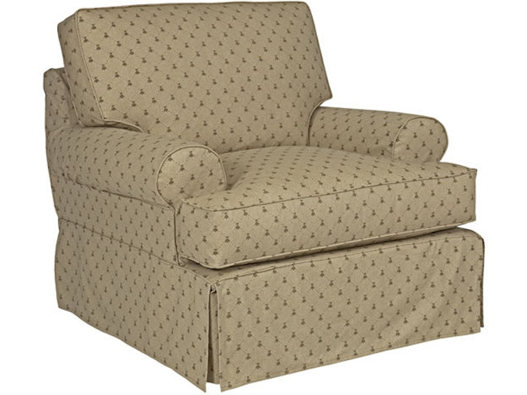 Kincaid Furniture Living Room Samantha Slipcover Chair 648 94