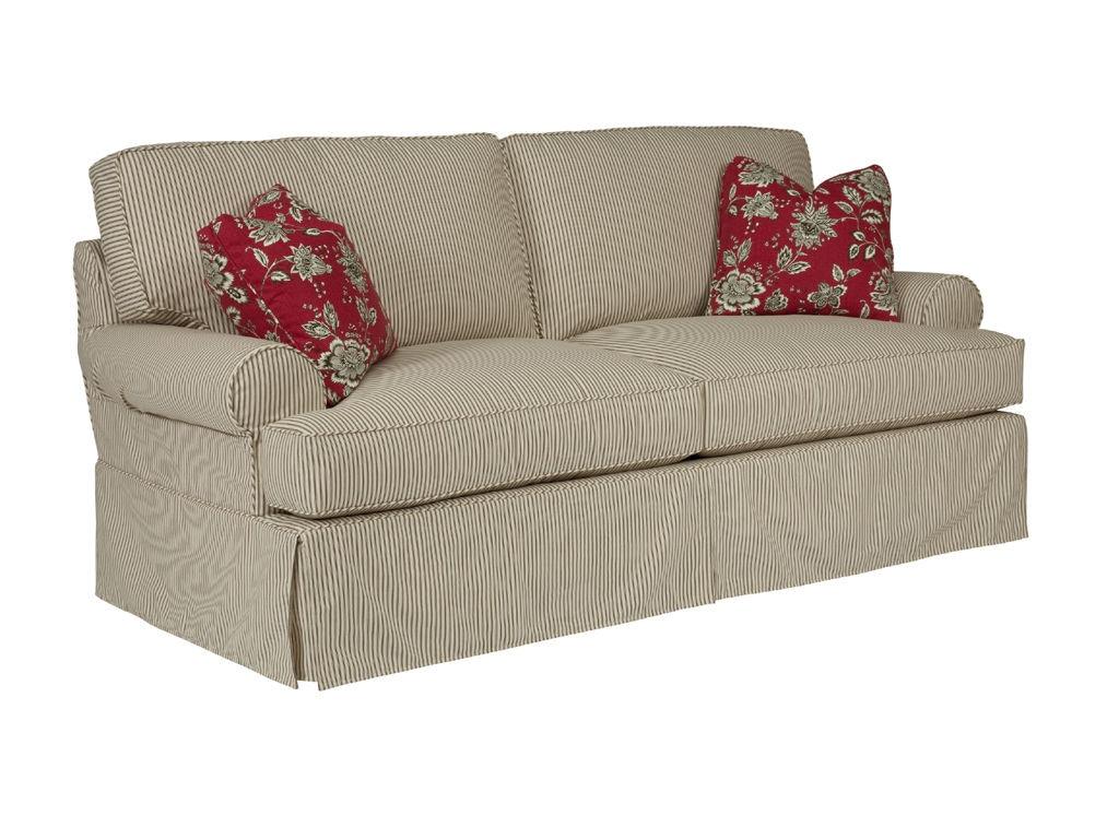 Kincaid Furniture Samantha Slipcover Queen Sleeper 648 99 Part 72