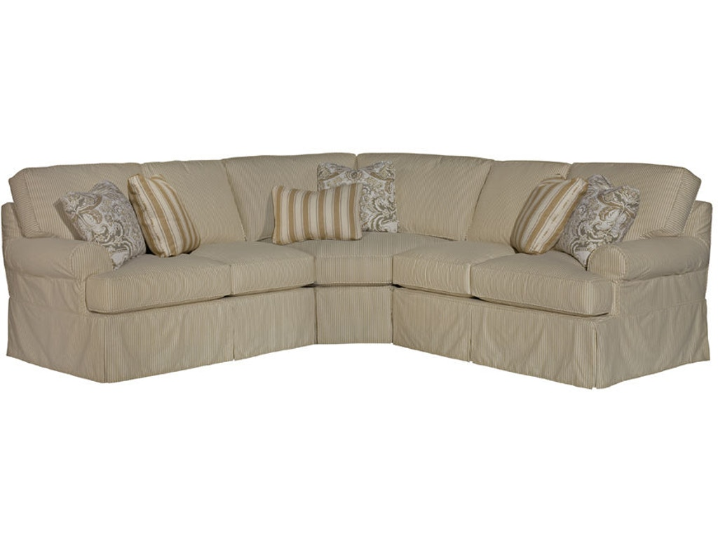 Kincaid Furniture Living Room Samantha Sectional 648-Sect ...