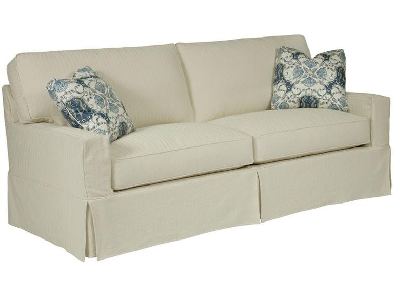 Kincaid Furniture Living Room Sarah Slipcover Sofa 649 96