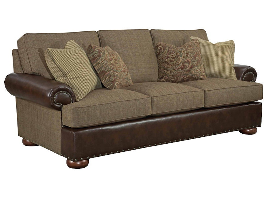 Kincaid furniture living room lubbock grande sofa 658 87 for Furniture lubbock