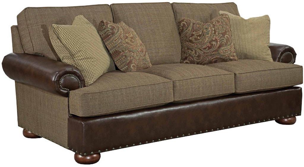 Kincaid Furniture Living Room Lubbock Grande Sofa 658 87