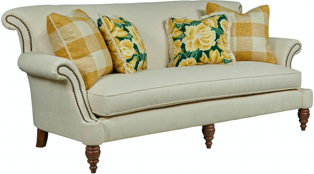 Astonishing Kincaid Furniture Living Room Sofa Bench Seat 667 76 Pabps2019 Chair Design Images Pabps2019Com