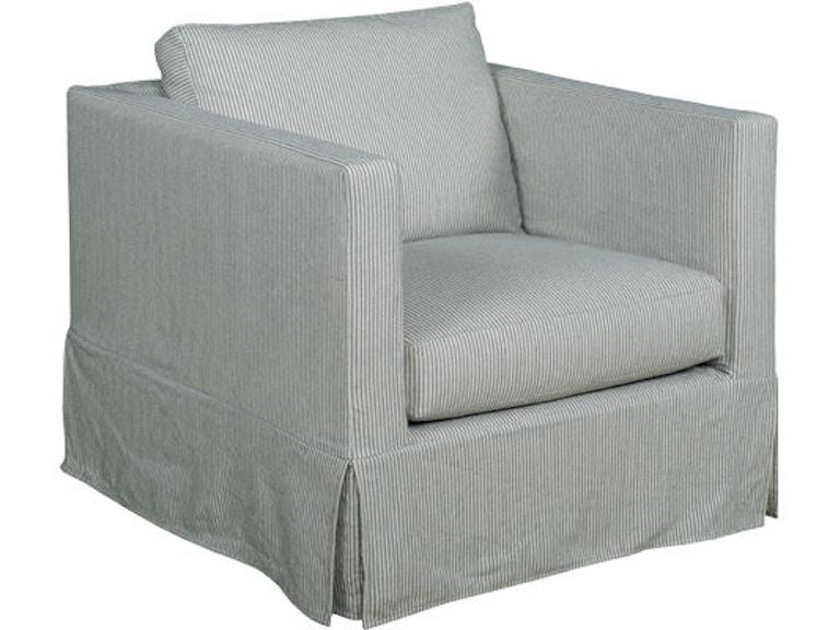 Kincaid Furniture Living Room Skyler Slipcover Chair 686 94 At Abide