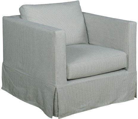 Kincaid Furniture Living Room Skyler Slipcover Chair 686 94 Abide