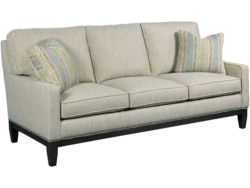 Kincaid furniture living room small sofa 698 76 gibson for Fitting furniture in small living room