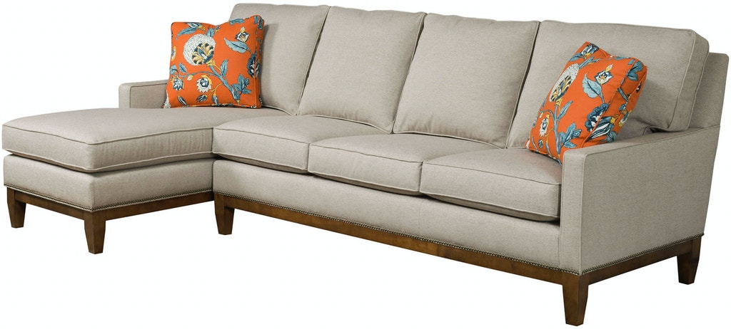 Kincaid Furniture Living Room Montreal Sectional 698 ...