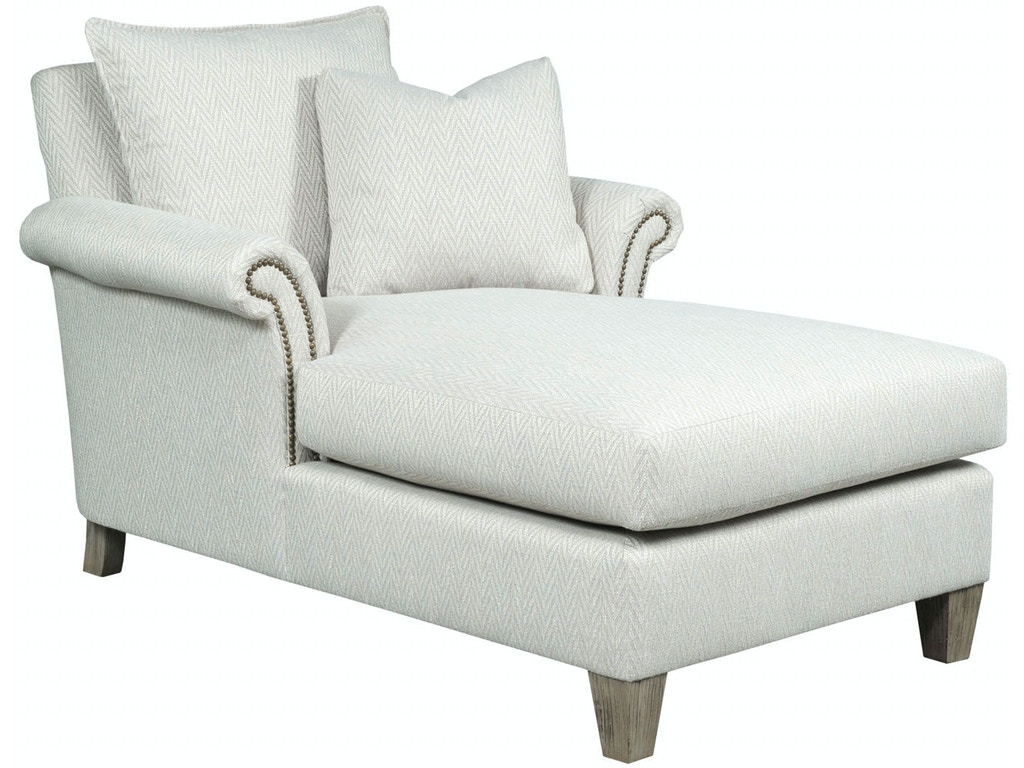 Kincaid furniture living room full chaise 699 52 for Chaise interiors
