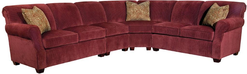 cheaper a943e 79232 Kincaid Furniture Living Room Lynchburg Sectional 814-Sect ...