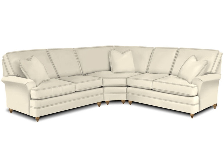 Kincaid Furniture Living Room Studio Select Sectional SSSECT ...