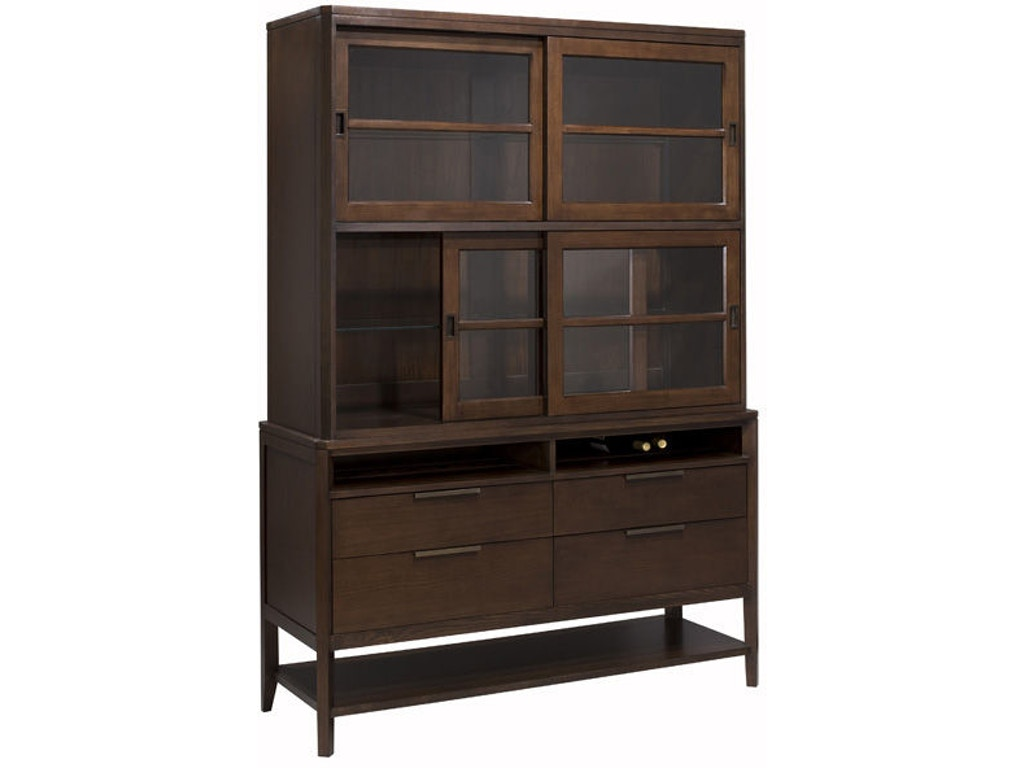 Harden furniture dining room monterey buffet and hutch for Dining room johnson city tn