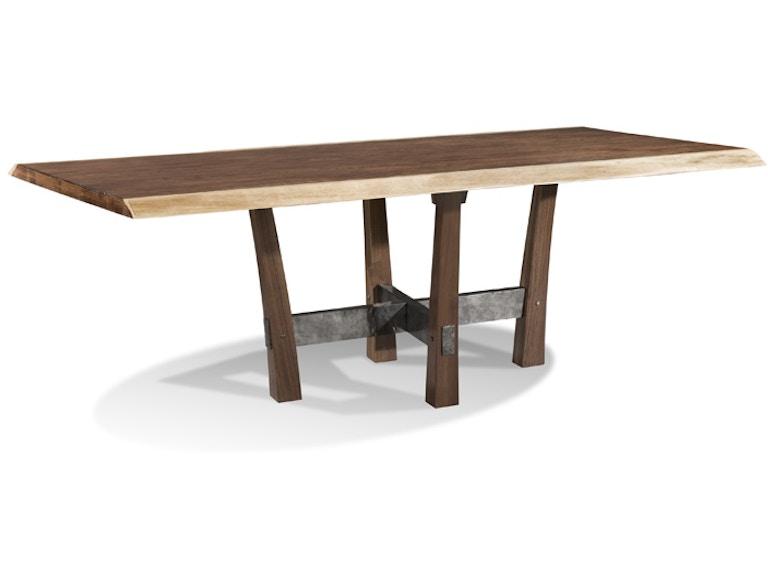 Harden Furniture Liveedge Iron Base Dining Table 1662