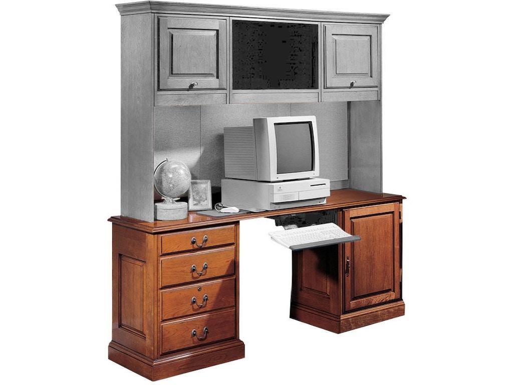 Harden furniture home office credenza hutch station 1731 shofer 39 s baltimore md - Home office furniture maryland ...