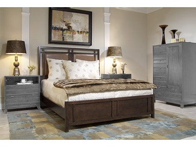 Harden Furniture Chambers Street Upholstered Bed 2303