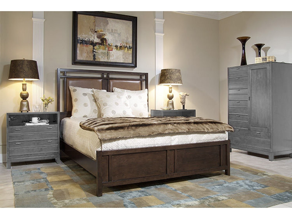 Harden Furniture Bedroom Chambers Street Upholstered Bed 2303 Hickory Furniture Mart Hickory Nc