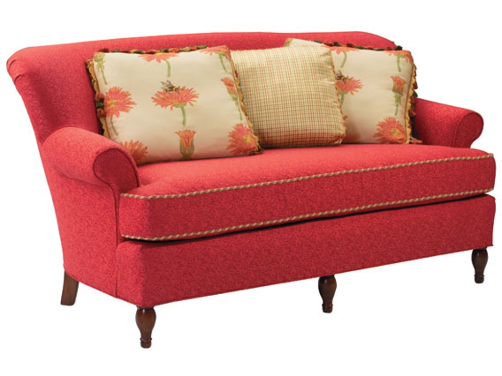 Harden Furniture Living Room Holmes Settee 6672 071 Juliana S Furniture Galleries Newnan