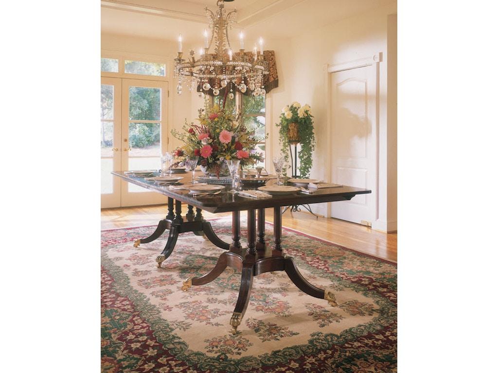 Harden furniture dining room custom dining tables 587 for Custom dining room tables