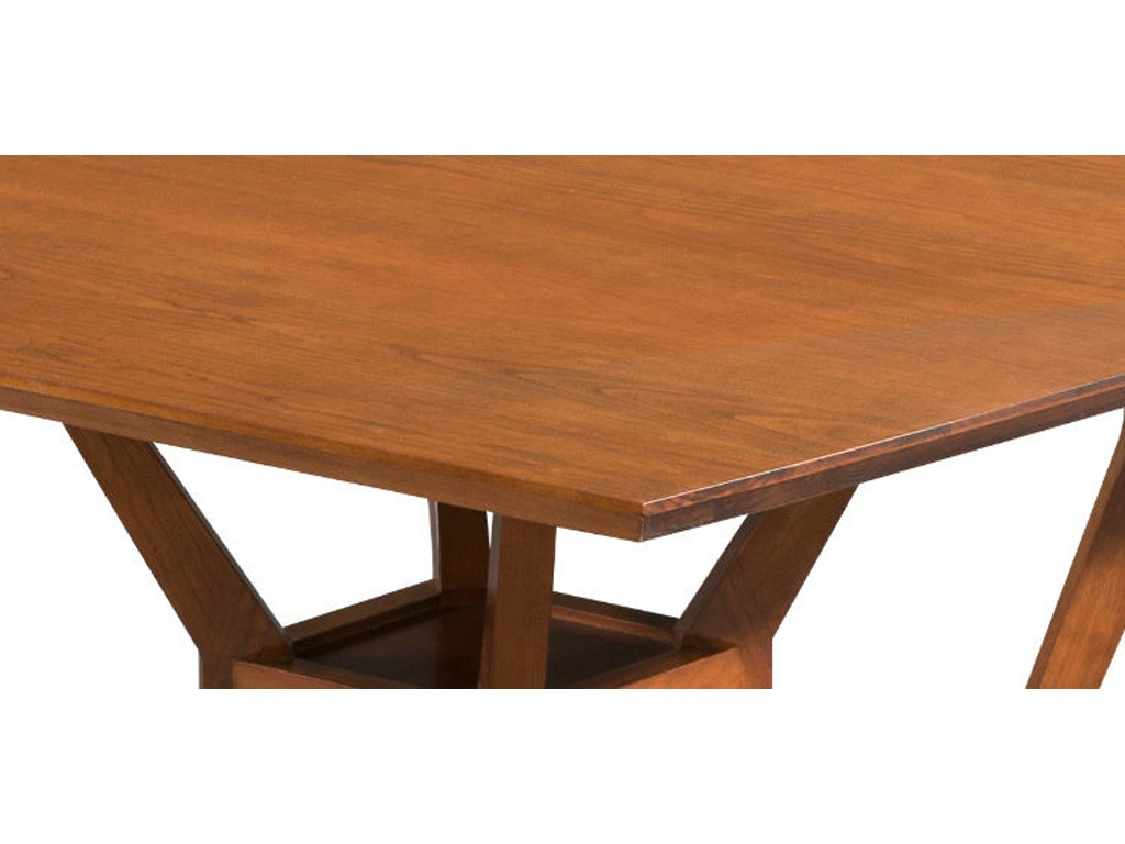 Rectangular dining table hd933 for Walter e smithe dining room furniture