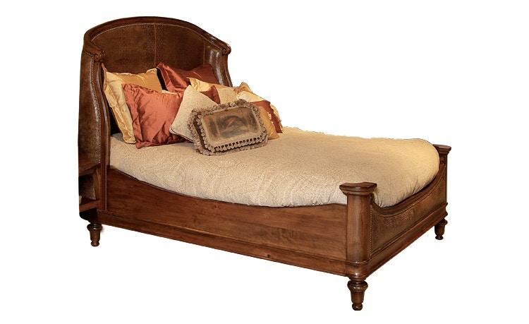 Harden Furniture Bedroom Ogden Upholstered Bed 1612