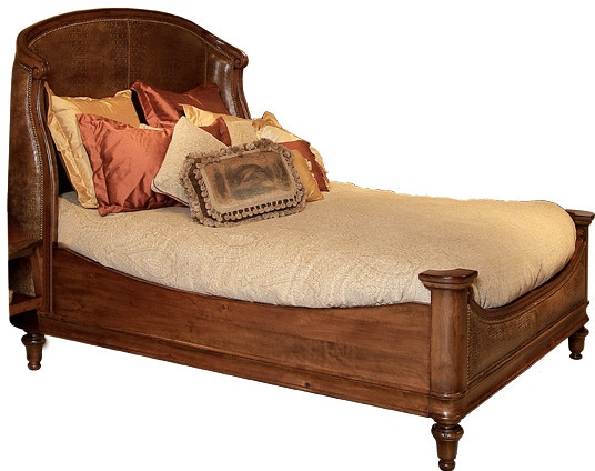 harden furniture upholstered bed cherry bedroom prices
