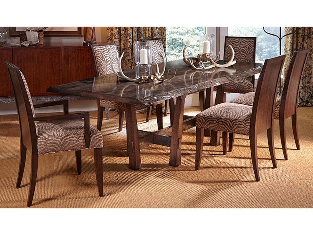 Harden Furniture Dining Room Rio Iron Base Dining Table 1681-400 ...