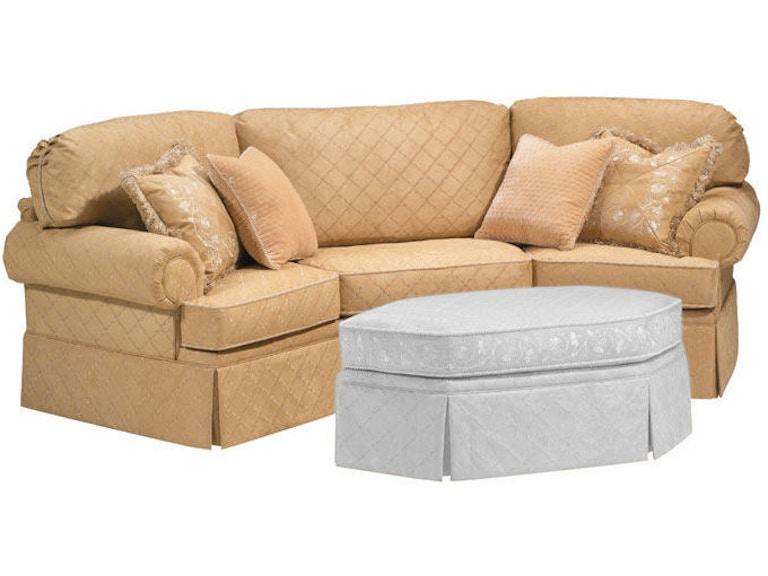 Harden Furniture Schafer Wedge Sofa 9633 112