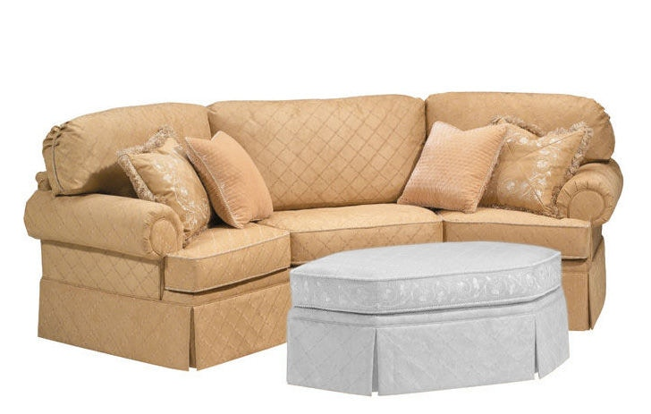 Awesome Harden Furniture Schafer Wedge Sofa 9633 112