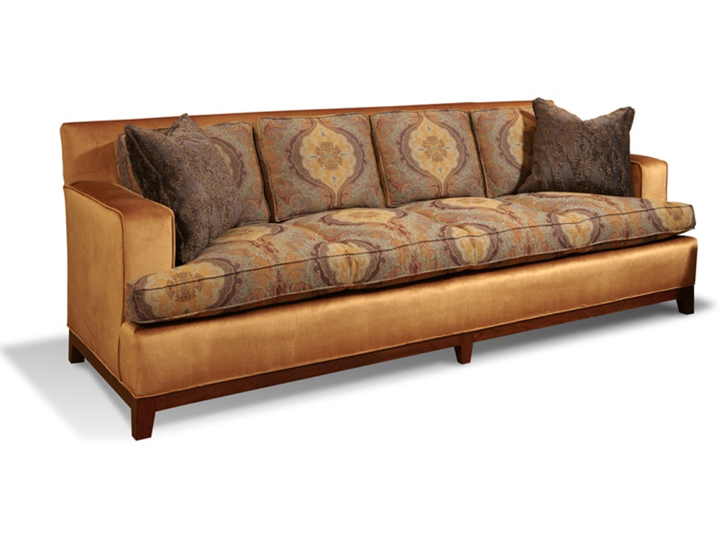 harden furniture living room kirby sofa 8659 098 hickory