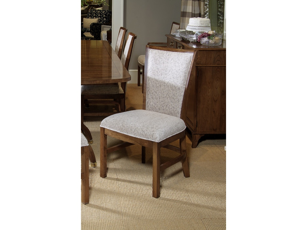 Harden furniture dining room side chair 556 lenoir for Dining room johnson city tn