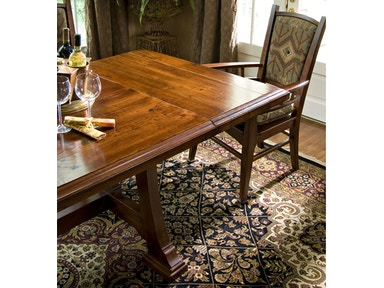 Harden Furniture Napa Trestle Table With Leaves 1698