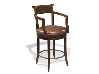 Harden Furniture Leather Bar Stool 877