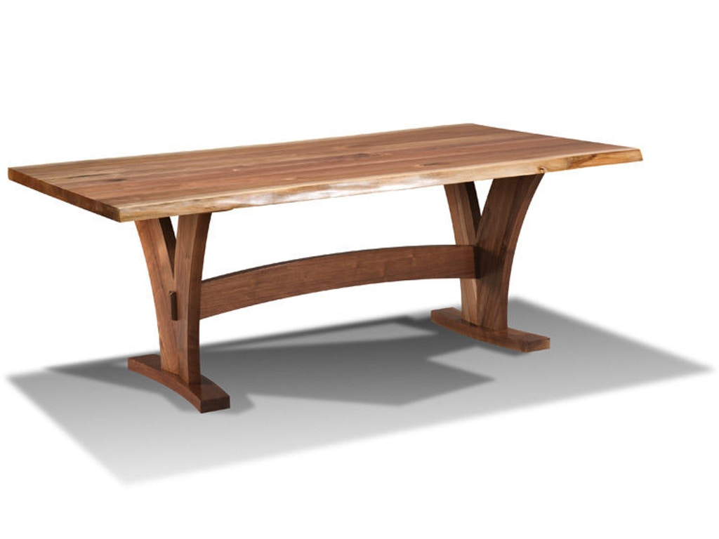 Aa Laun Coffee Table Harden Furniture Dining Room Live Edge Wood Base Dining Table 1619