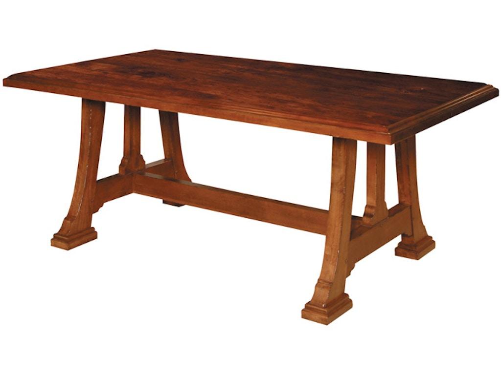 Napa Trestle Table Hd1699