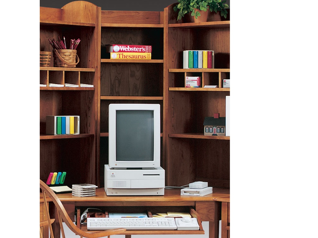 Harden Furniture Home Office Tall Corner Bookcase 1168