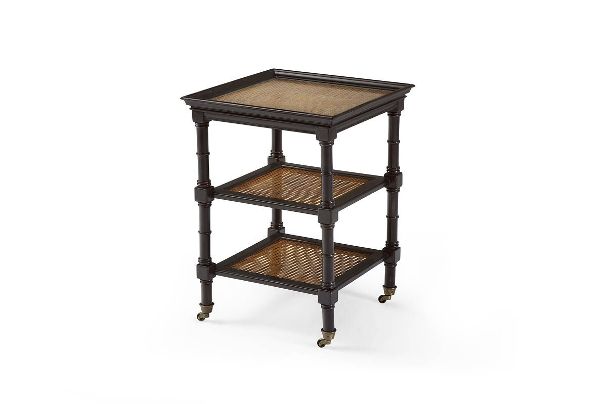 Heather Brooke Island Retreat End Table With Rattan A6325 02