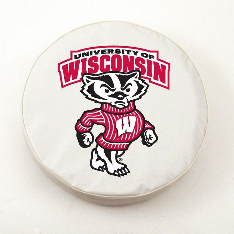 Holland Bar Stool Accessories University of Wisconsin - Bucky Logo