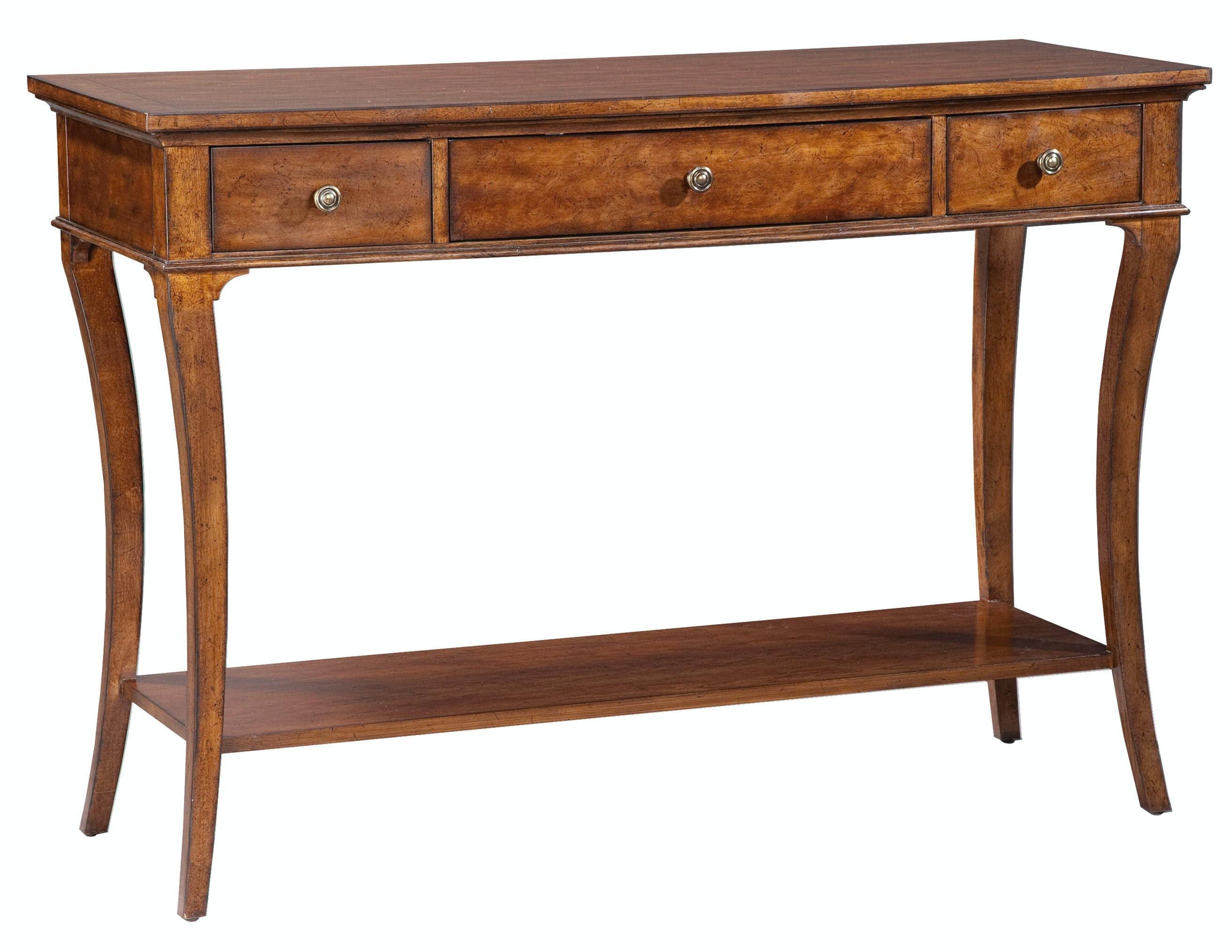Hekman Living Room European Legacy Console Table 1 1113