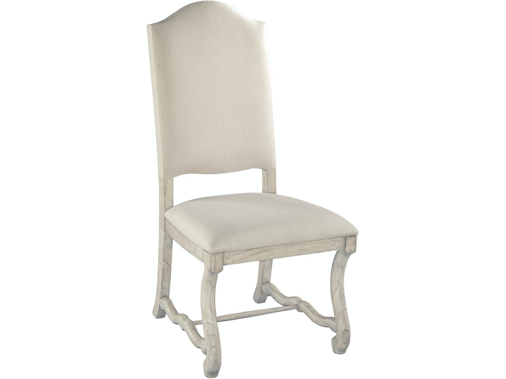 Hekman dining room upholstered side chair 12224ln for Upholstered dining room side chairs